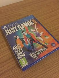 Brand new and sealed Just Dance 2017 PS4