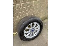Ford Mondeo alloy wheel and new continental tyre