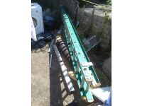 Aluminium Domestic Double Extension Ladders UK Manufactured by catwalk