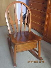 Ercol Rare Rocking Chair