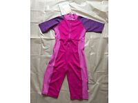 50 + UPF Protection Girls Swimming Suit