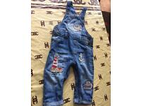 Dungarees 9-12 months from next £5