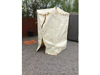 2x (4x4) (6x6) ex display tarpauling tent