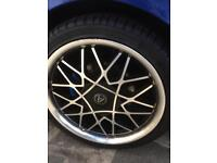 Golf mk4 wheels and tyres