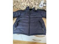 Zara Mans coat - blue