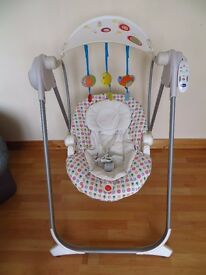 Chicco Baby Swing with remote control