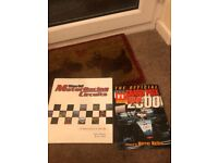 World Motor Circuits Book and Formula one Grand Prix 2000.