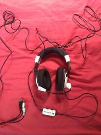 Turtle beach earforce X11 Xbox 360 chat headset