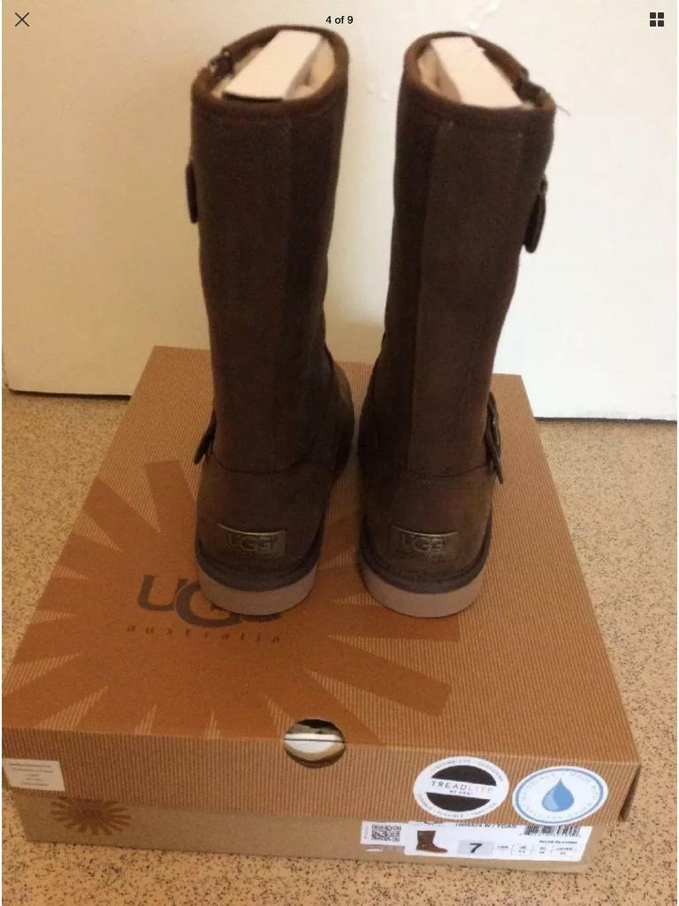 Ugg sutter in toast colour size Uk 5 ugg sizing 5.5 eu 38