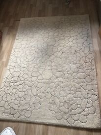 Wool Rug 120x170 cm