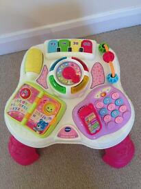 Vtech play & learn activity table - pink