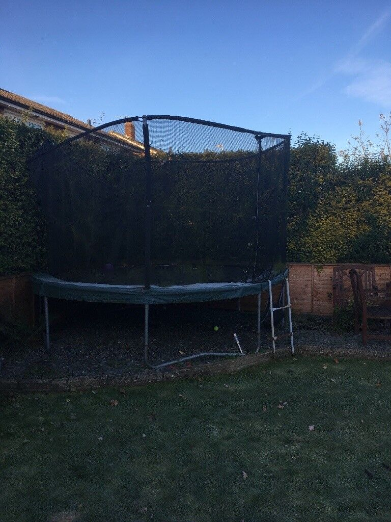 "14 foot ""Jumpking"" trampoline"