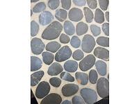 Pebble Design Glazed Porcelain Floor Tiles 600mmx600mm