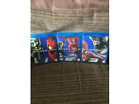Spider-Man blu-ray collection