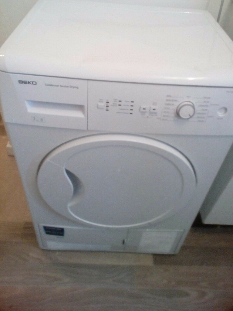 Beko tumble dryer sensor condenser good working condition