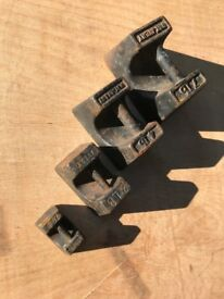 Set of vintage imperial weights, ideal as curios, decor theme or even as weights!