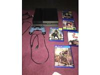 PS4 console and games bundle 500gb - £200 ono