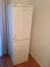 A fridge freezer in excellent condition for sale