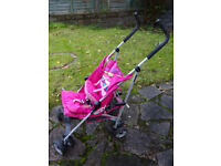 KOOCHI PUSHCHAIR STROLLER BABY BUGGY, needs cleaning