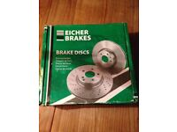 Genuine set of Brake discs and disc pads - for Volvo V40 - £25ono