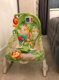 Fisher price baby rocking chair 3in1