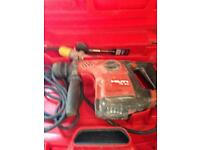 Hilty te30 hammer drill