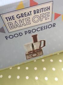 The great British bake off food processor BRAND NEW