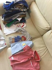 One Mixed Lot boys baby toddler 9-12 months clothes
