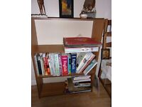 wood effect bookself for sale