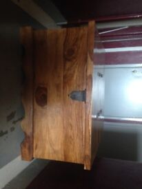 Beautiful hard wood chest in excellent condition