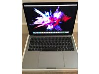 Apple Macbook Pro 13 Inch A1708 Late 2016, Space Grey, No Touchbar With case!