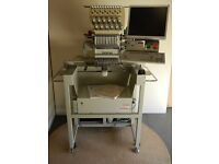 Brother Single Head Industrial Embroidery Machine BE-1201B-AC 12 Needle PC Control - Portsmouth