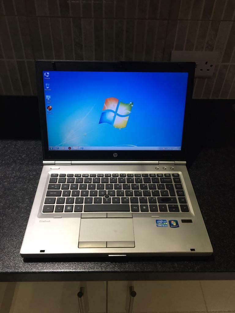 HP elitebook intel i5 vpro