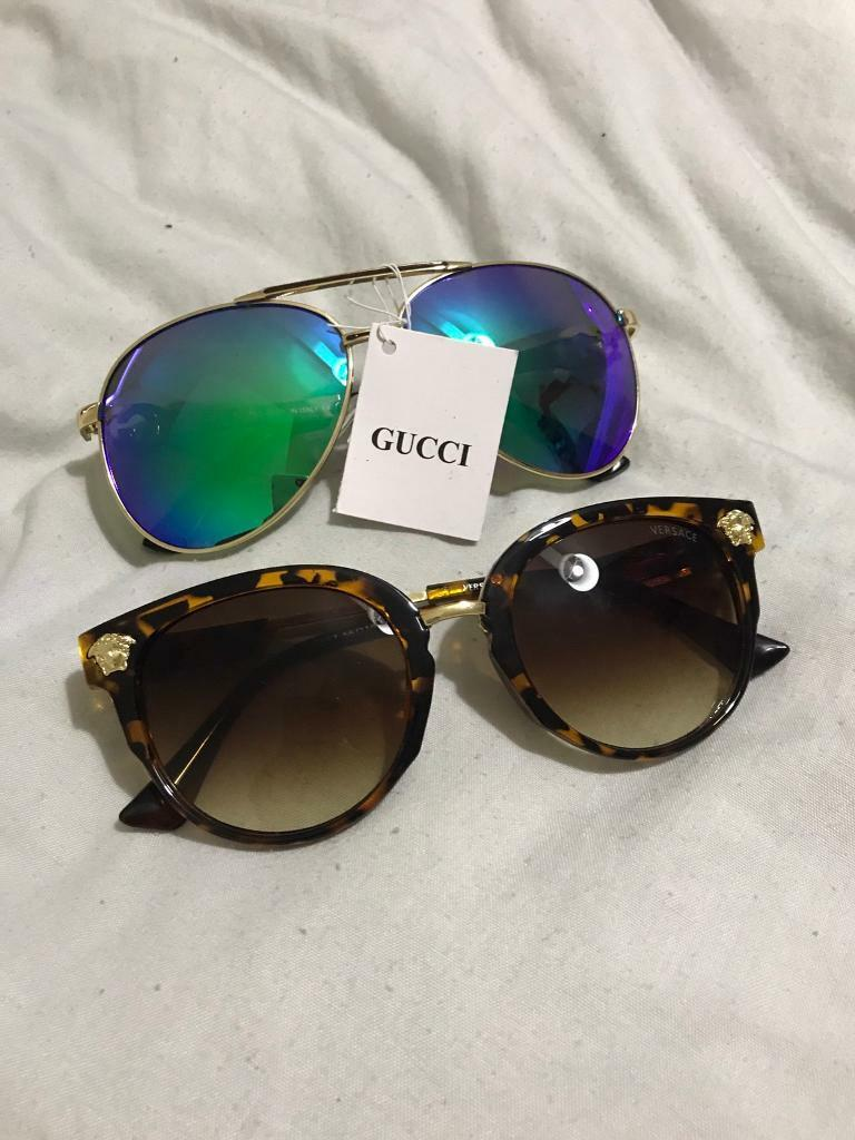 1bc8d0ef90 Gucci Aviator Sunglasses Leopard Green « One More Soul
