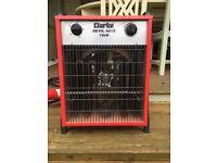 Clarke Devil 6015 Industrial 15KW Electric Fan Heater (400V - 3 phase)
