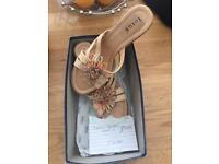 Ladies LOTUS Wedge Sandals
