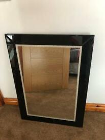 Black gloss mirror excellent condition
