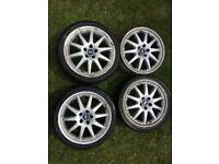"""Mondeo Mk3 Ghia X 18"""" 10-spoke Split Rim Style Alloy Wheels x4"""