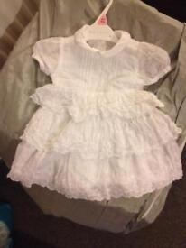 Genuine Baby Girls Gucci Dress Gown 9-12months
