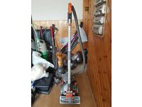 orange Dyson DC08 Cylinder Hoover bagless new motor fitted 1 months warranty just with th