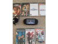 PlayStation PSP console, games and extras