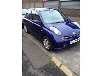 Nissan Micra 2004. Mot September 2017, 1.2cc