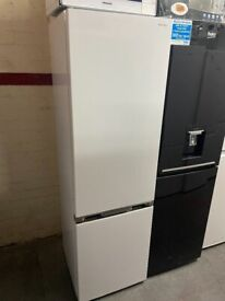 TALL WHITE SHARP FRIDGE FREEZER GRADED NOT USED