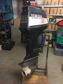 Yamaha 60hp 2 stroke boat outboard engine - spares or repair