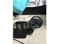 LOGITECH Driving Force G920 Wheel & Gearstick