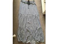F&F maxi skirt size 12
