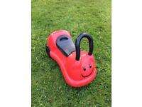 Ladybird ride-on