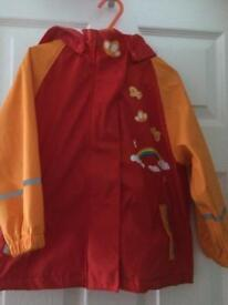 Child's raincoat - lupilu age 2-4 years
