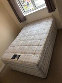 Silent night double bed
