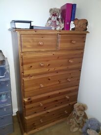 Large Pine Chest of Drawers for Sale